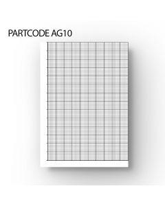 20/10 mm Graph Paper - A4 Loose Leaf 100 Sheets