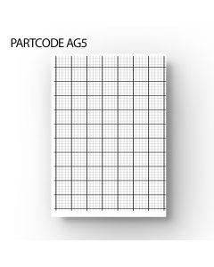 20/5 mm Graph Paper - A4 Loose Leaf 100 Sheet Pack