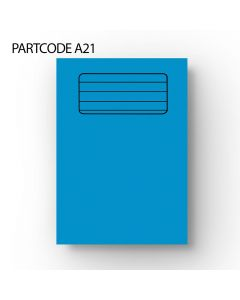 15 mm Squared A4 Exercise Book - Blue, 60 Pages