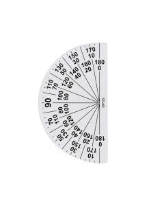 Large Print Protractor
